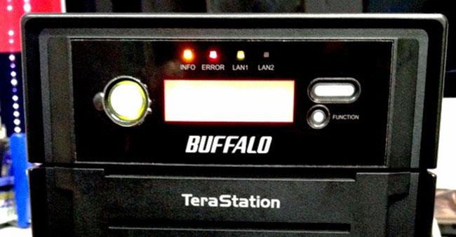 TS-XE4.0TL/R5 フロントパネルのエラーランプ点灯